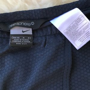 Nike Shorts - Nike Sphere Dri Fit Skort navy textured